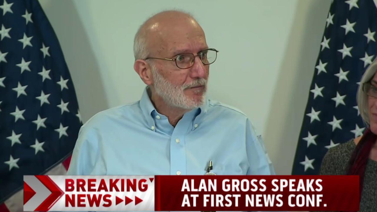 Alan Gross speaks about release from Cuba