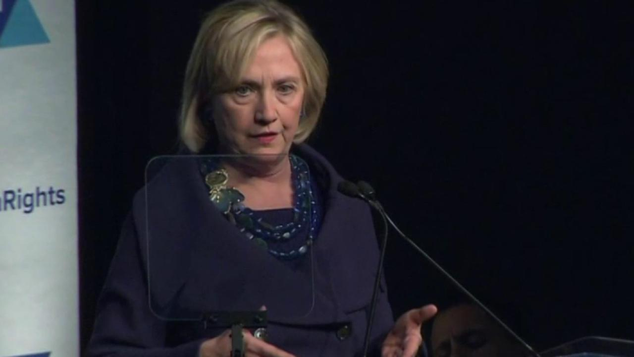 Hillary Clinton unequivocal about torture