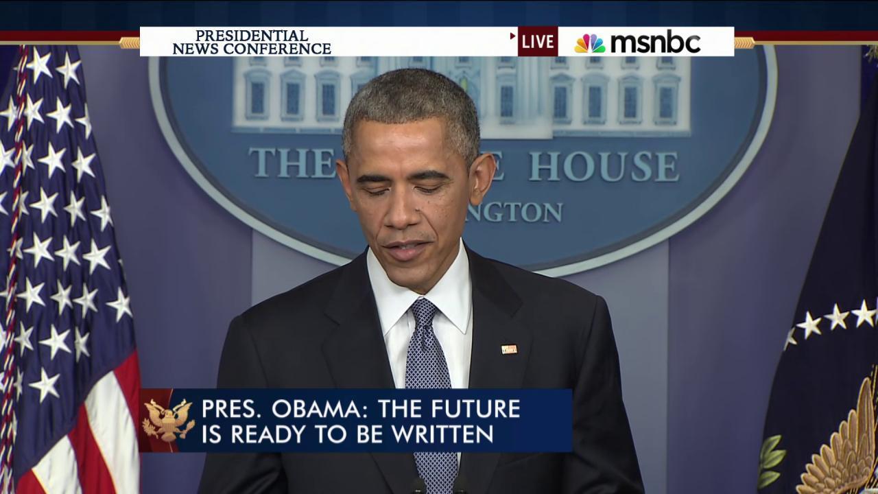 President Obama: Sony made a mistake