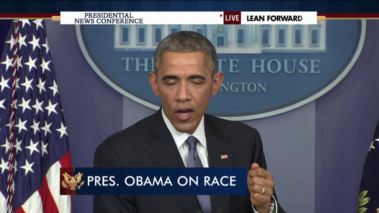 Obama: Conversations about race are necessary