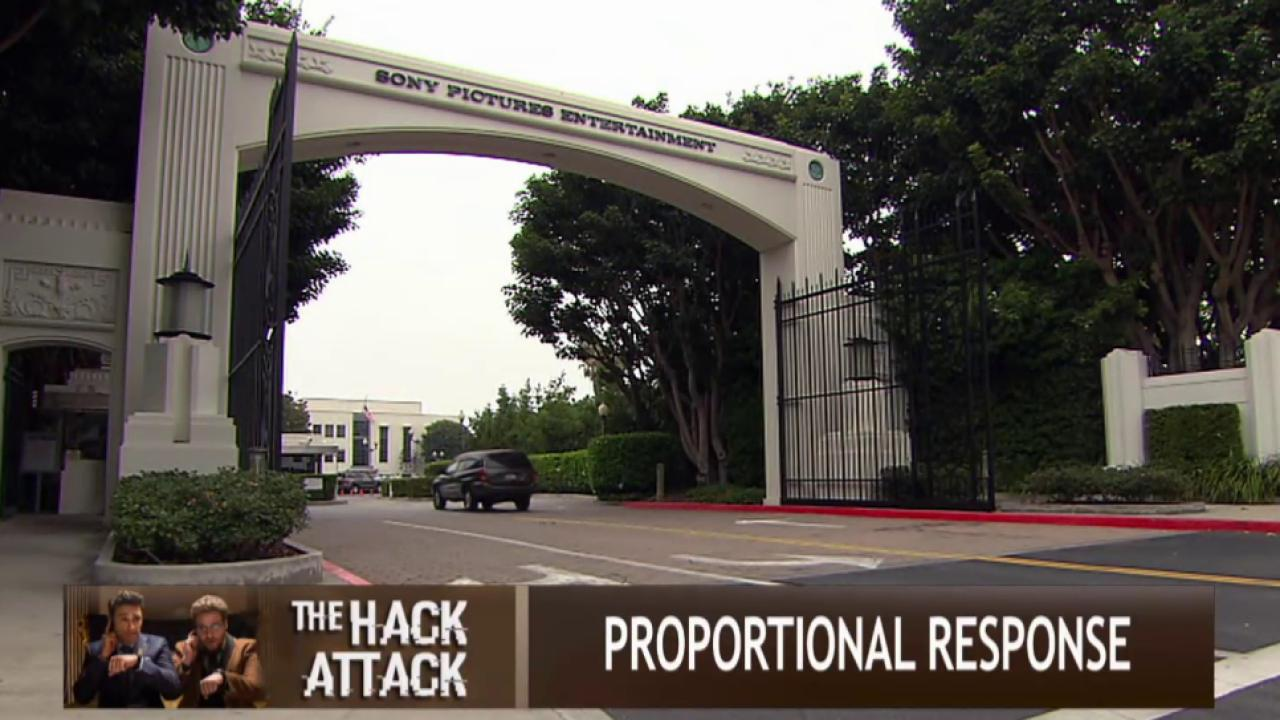 How should US respond to Sony hack?