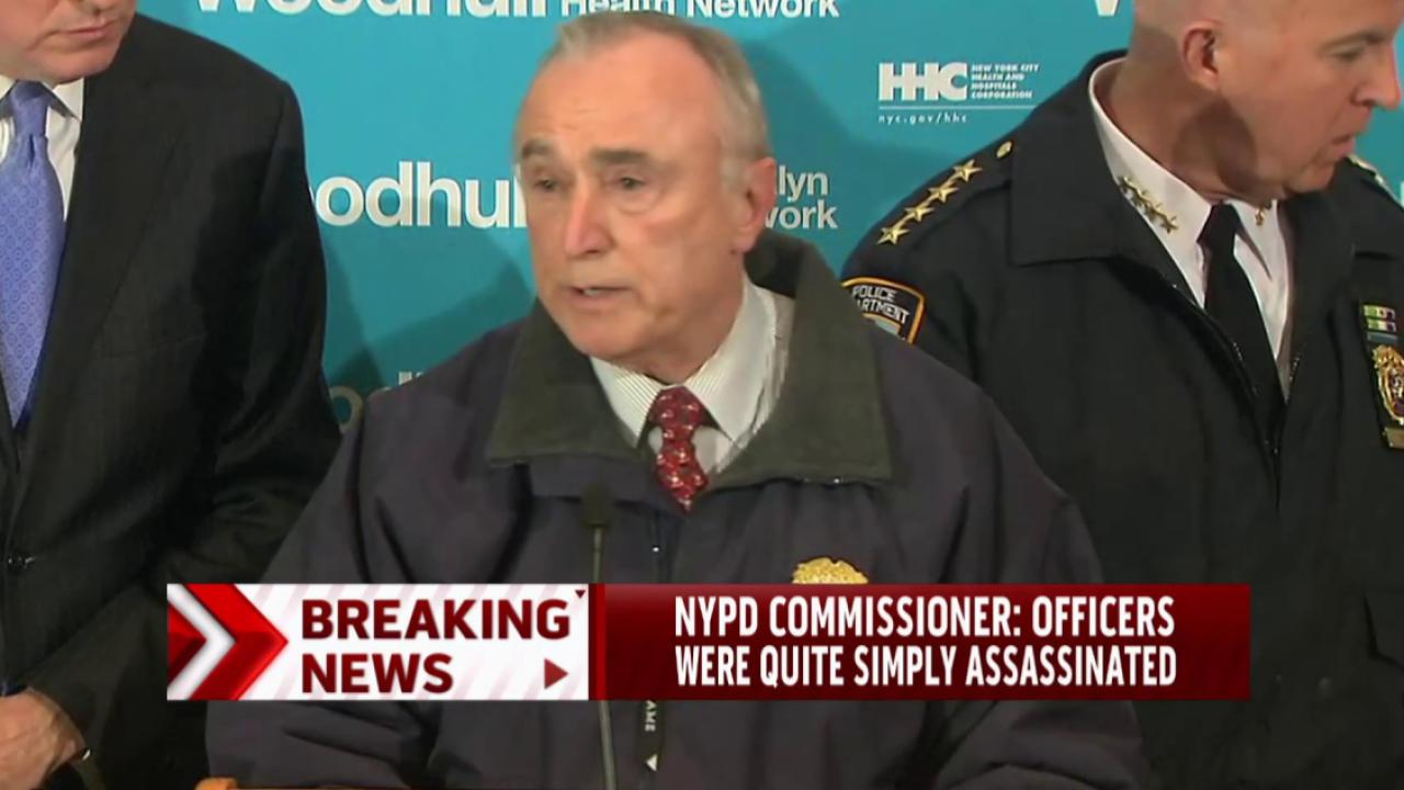 Bratton: Officers 'quite simply assassinated'