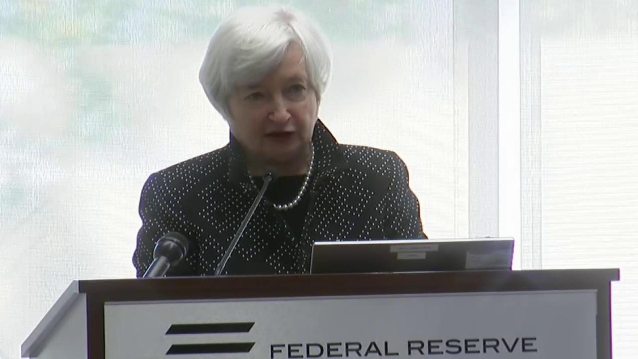 Markets bounce after Yellen annoucement