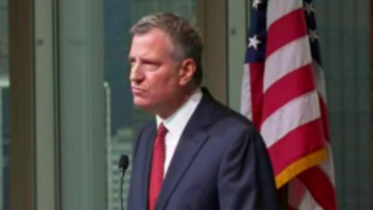 Relationship between De Blasio, police frayed