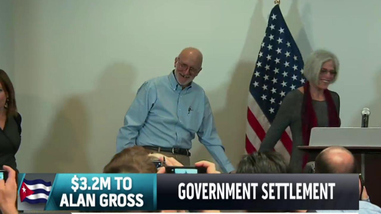 Gross receives settlement from government