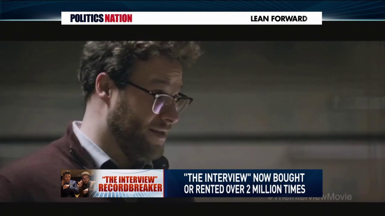'The Interview' smashes online records