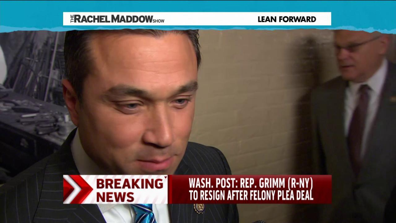 Grimm to resign after guilty plea on fraud