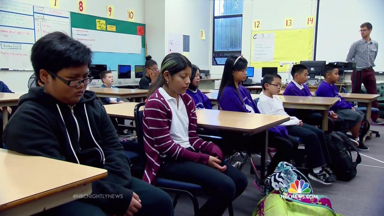 Meditation Curbs Violence At San Francisco Schools