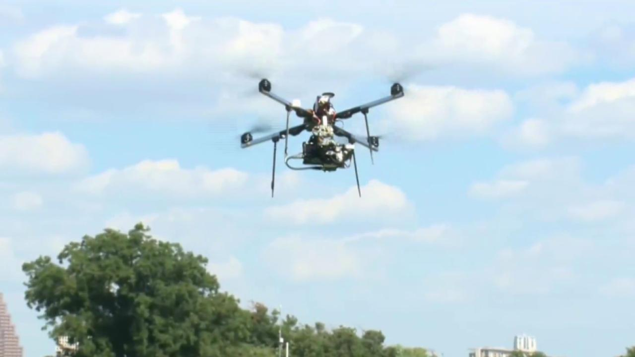 Recreational drones rise in popularity