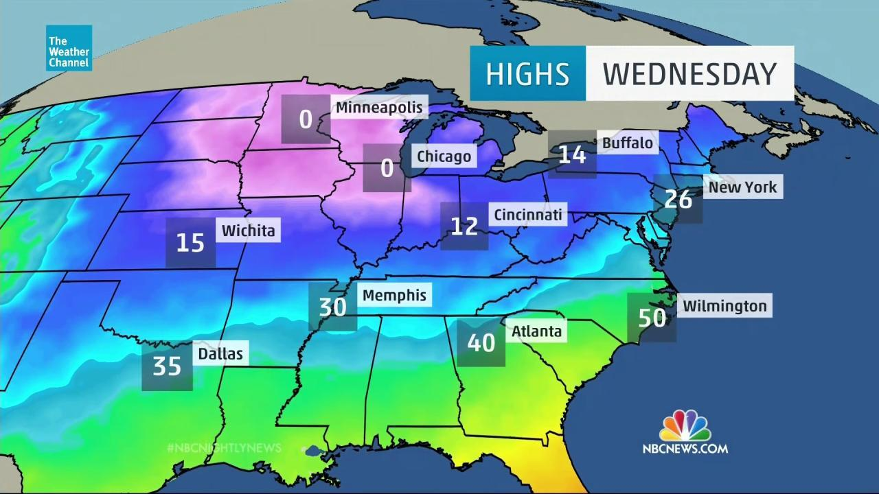 Dangerously Cold: Bitter Temperatures to Blast U.S.