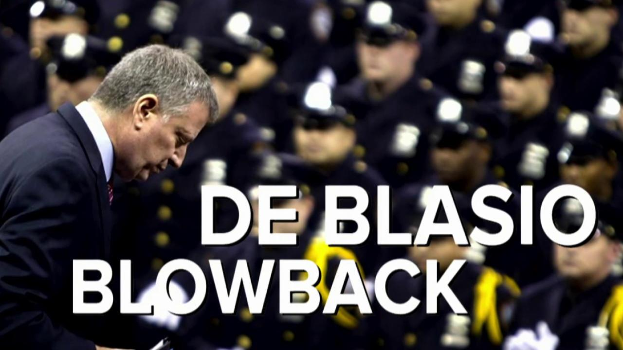 Can NYC Mayor De Blasio make peace with NYPD?