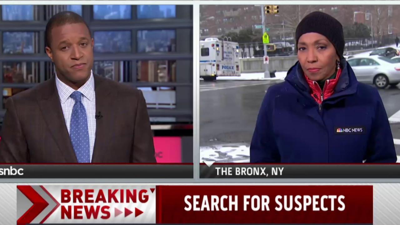 Manhunt intensifies for Bronx suspects