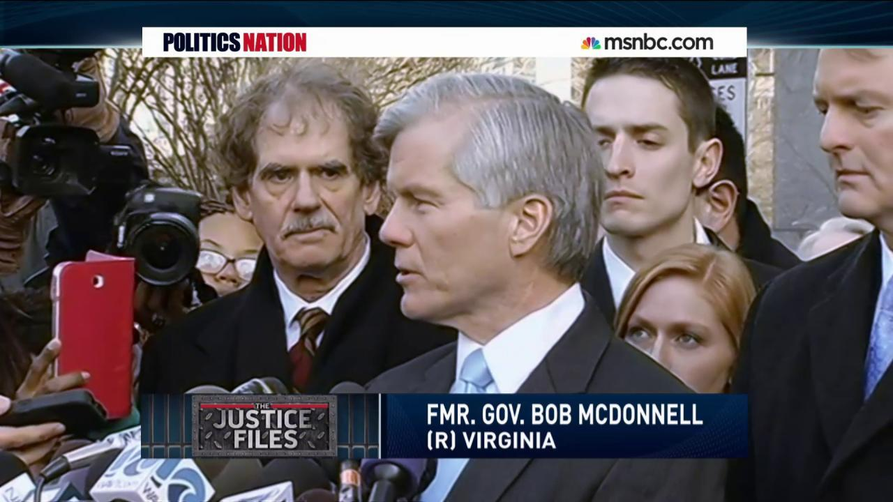 Justice Files: Bob McDonnell & Thomas Gilbert