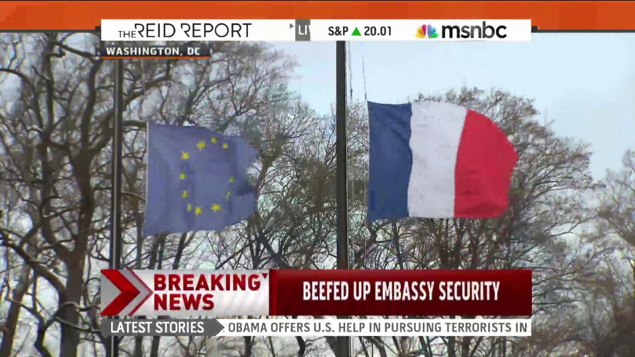 Security increased at French Consulate in NYC