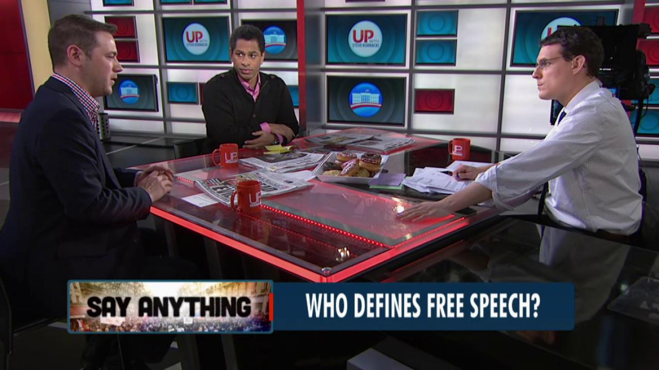Attack sparks debate on free speech