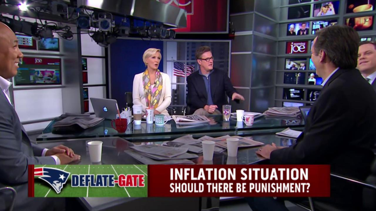 Should there be punishment in Deflate-Gate?