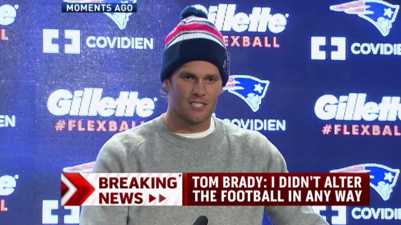 Tom Brady denies involvement in 'deflate...