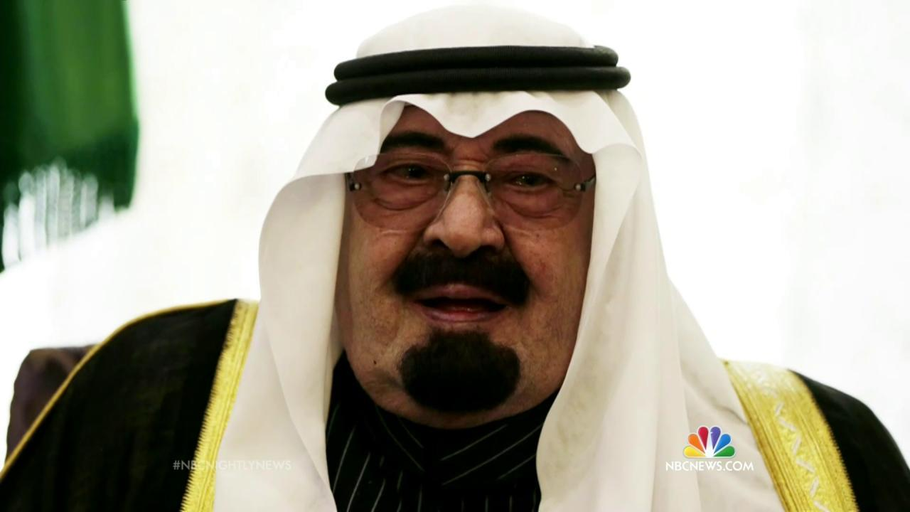 Saudi Arabia's New King - cover