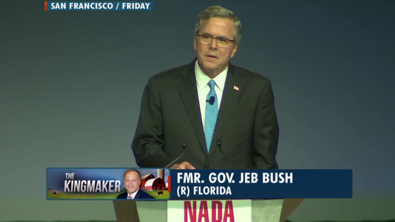Republican divide over Jeb Bush
