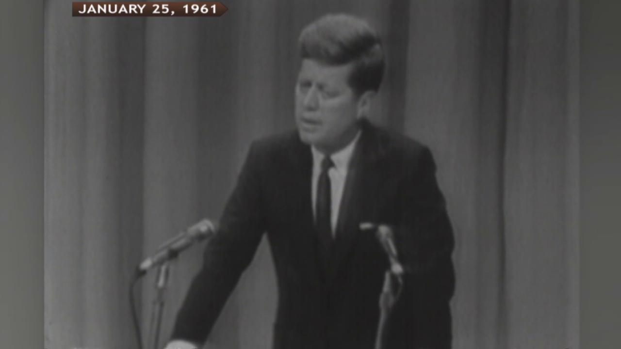 When JFK took a chance on live TV