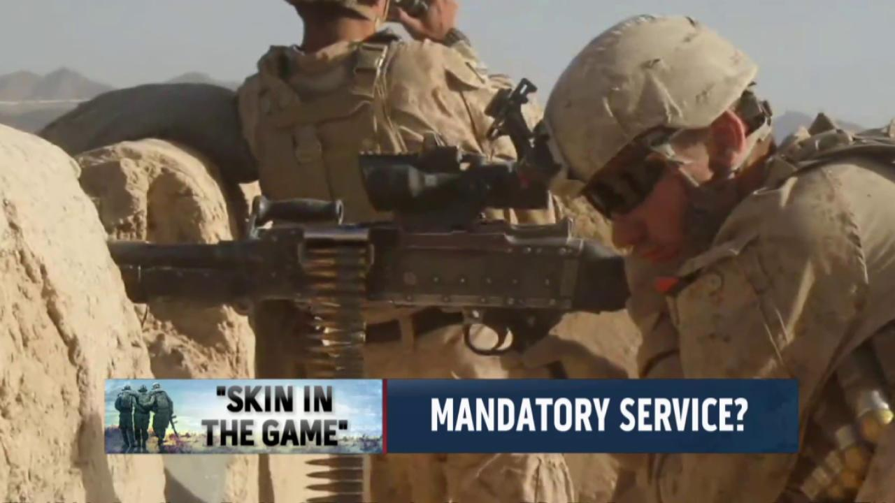 Should military service be mandatory?