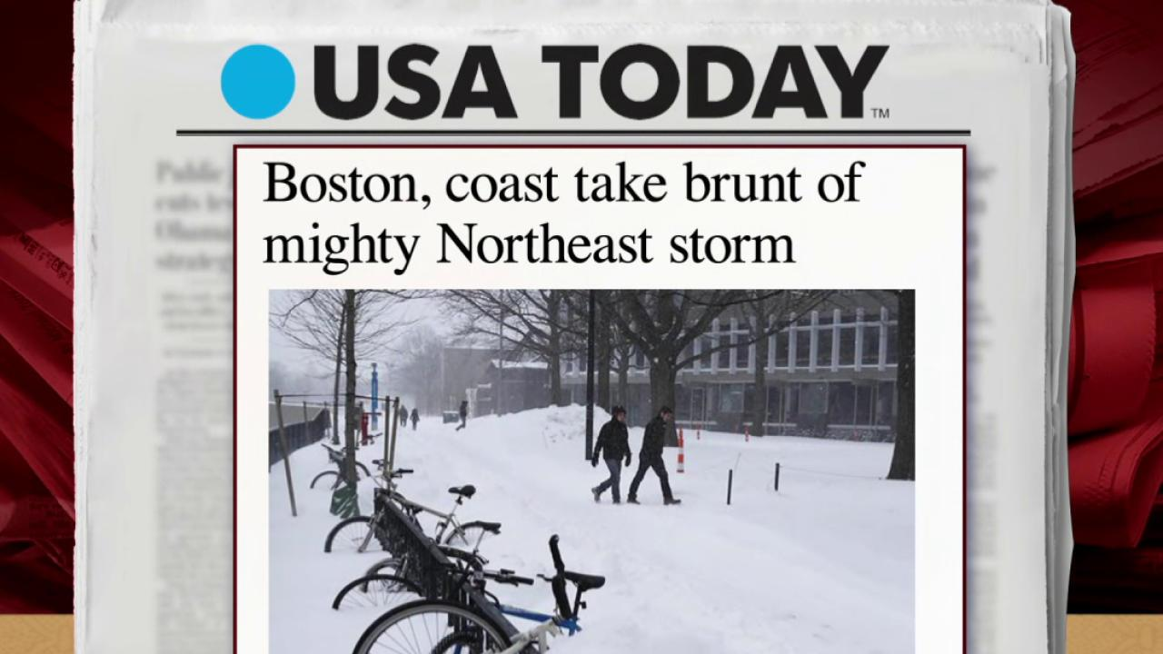 New England towns begin cleanup