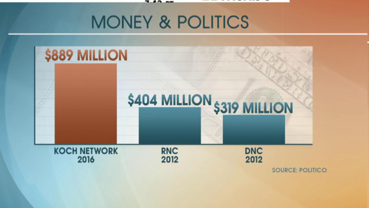 Report: Koch brothers prepare 2016 spending