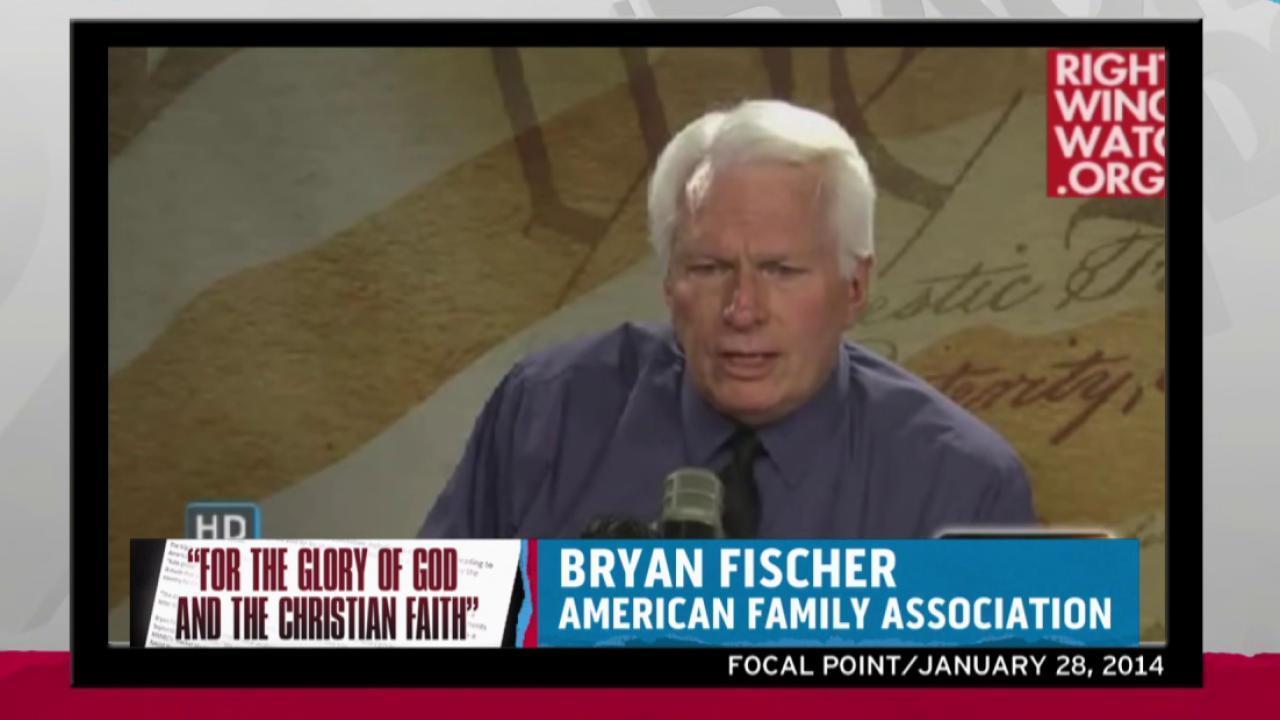 Bryan Fischer fired ahead of RNC Israel trip