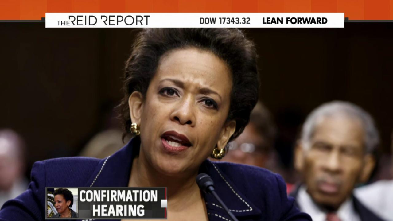 Could Loretta Lynch move things forward?
