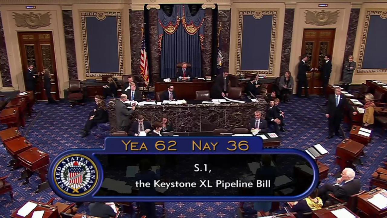 Obama whets veto pen on Keystone passage