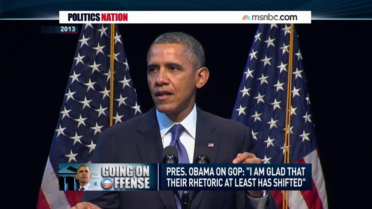 Obama takes GOP to task over inequality