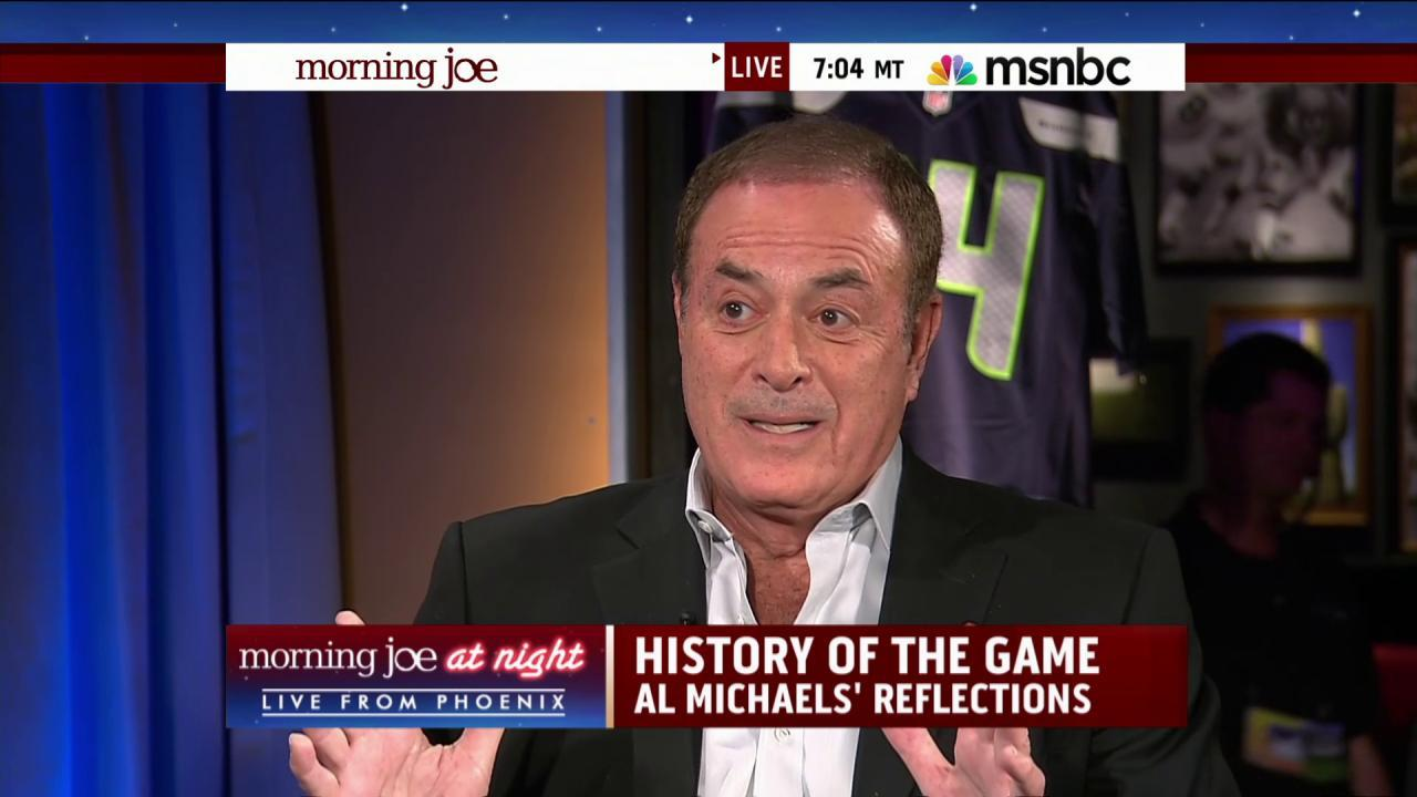 A sportscasting legend on NFL's troubled 2014
