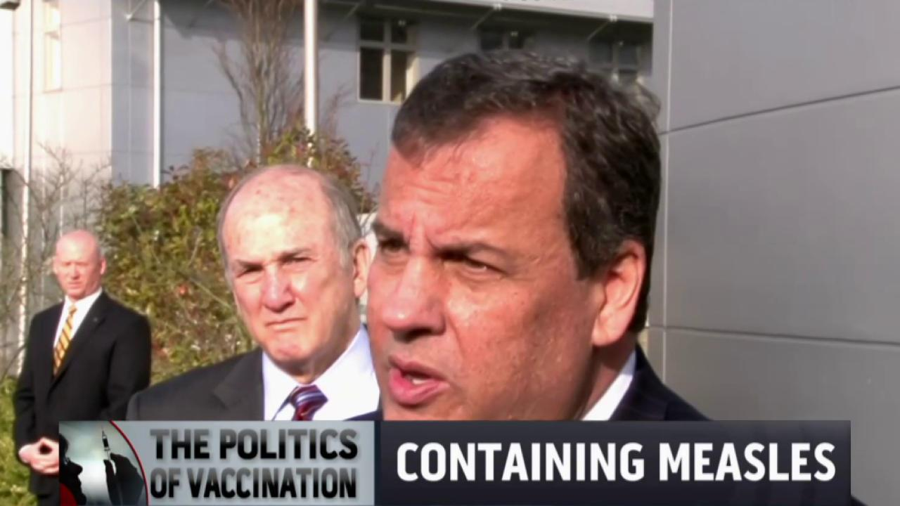 Politicians jump into the vaccination debate