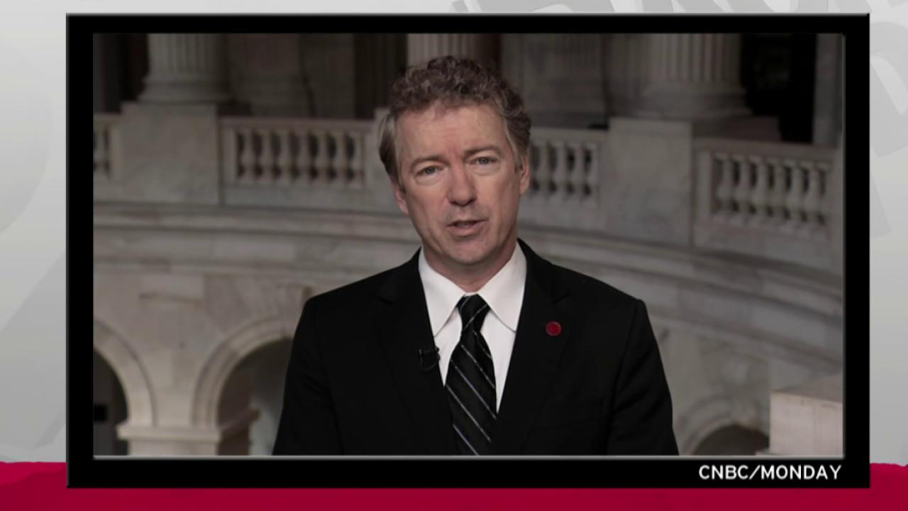 Rand Paul backpedal on vaccines unconvincing