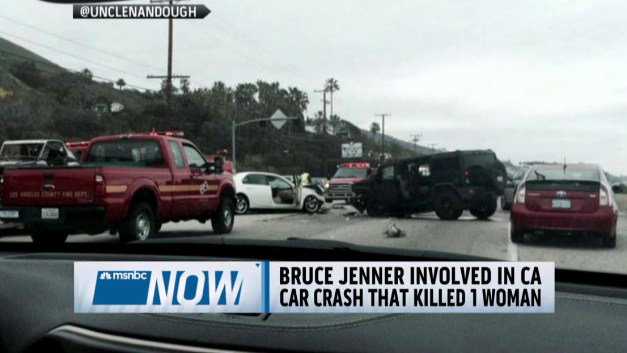 Bruce Jenner involved in car crash