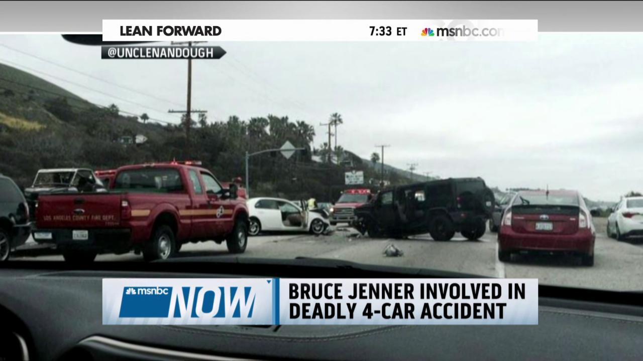Bruce Jenner involved in deadly car crash