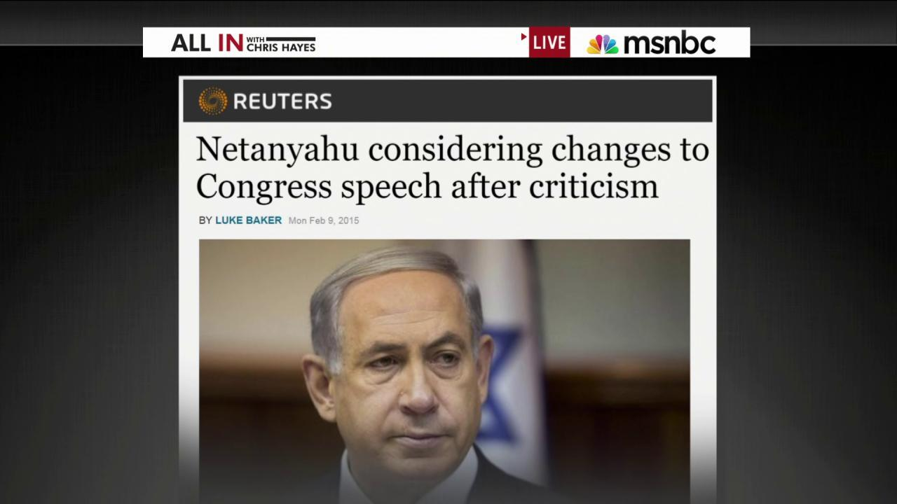 Backlash grows over Netanyahu speech
