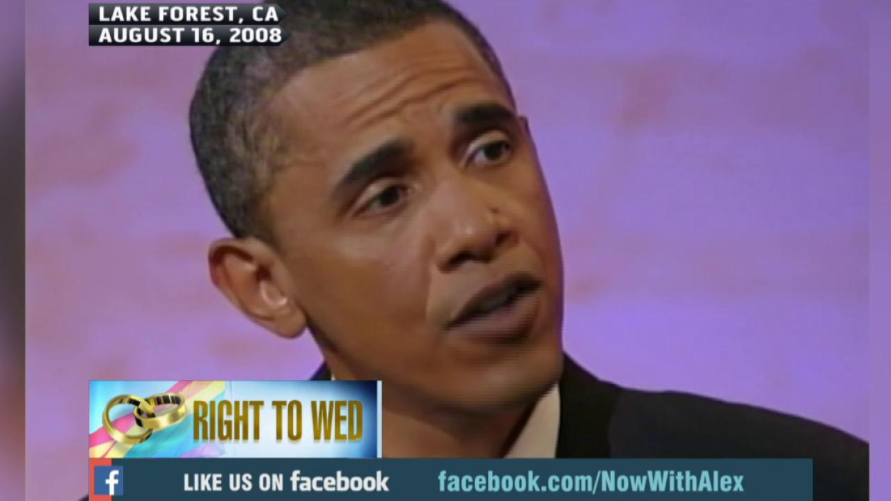 Book reveals Obama supported gay marriage...