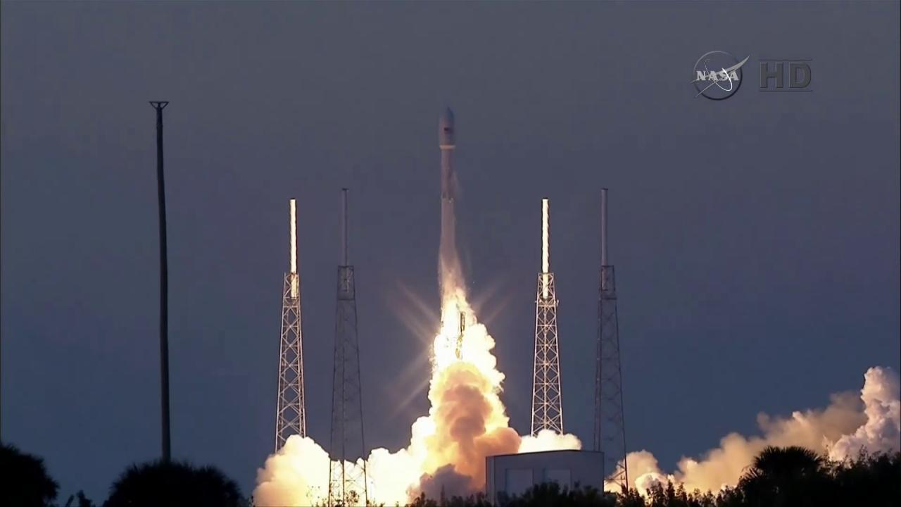 SpaceX Launches DSCOVR Satellite at Last, but Skips Rocket Landing