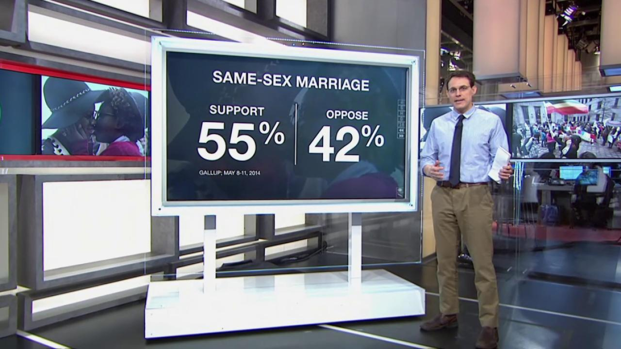 Where gay marriage opposition is coming from