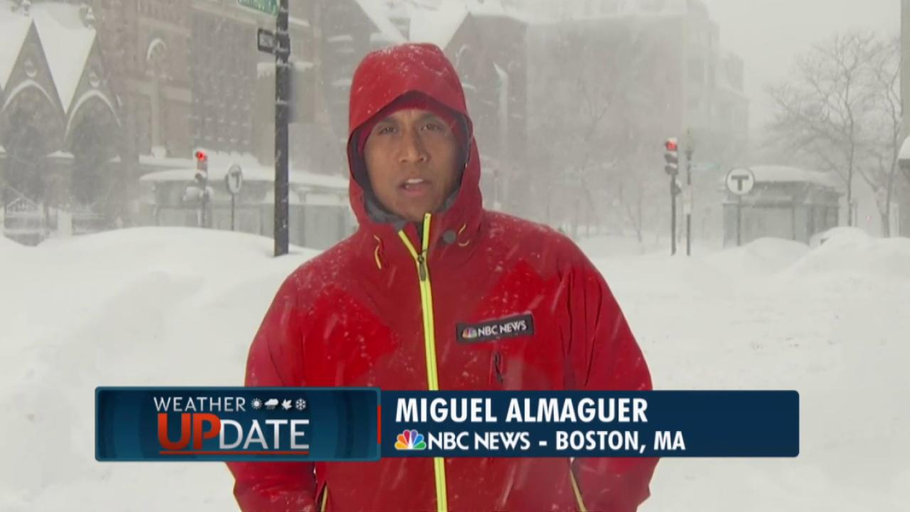 Blizzard may bring 'hurricane-force' winds