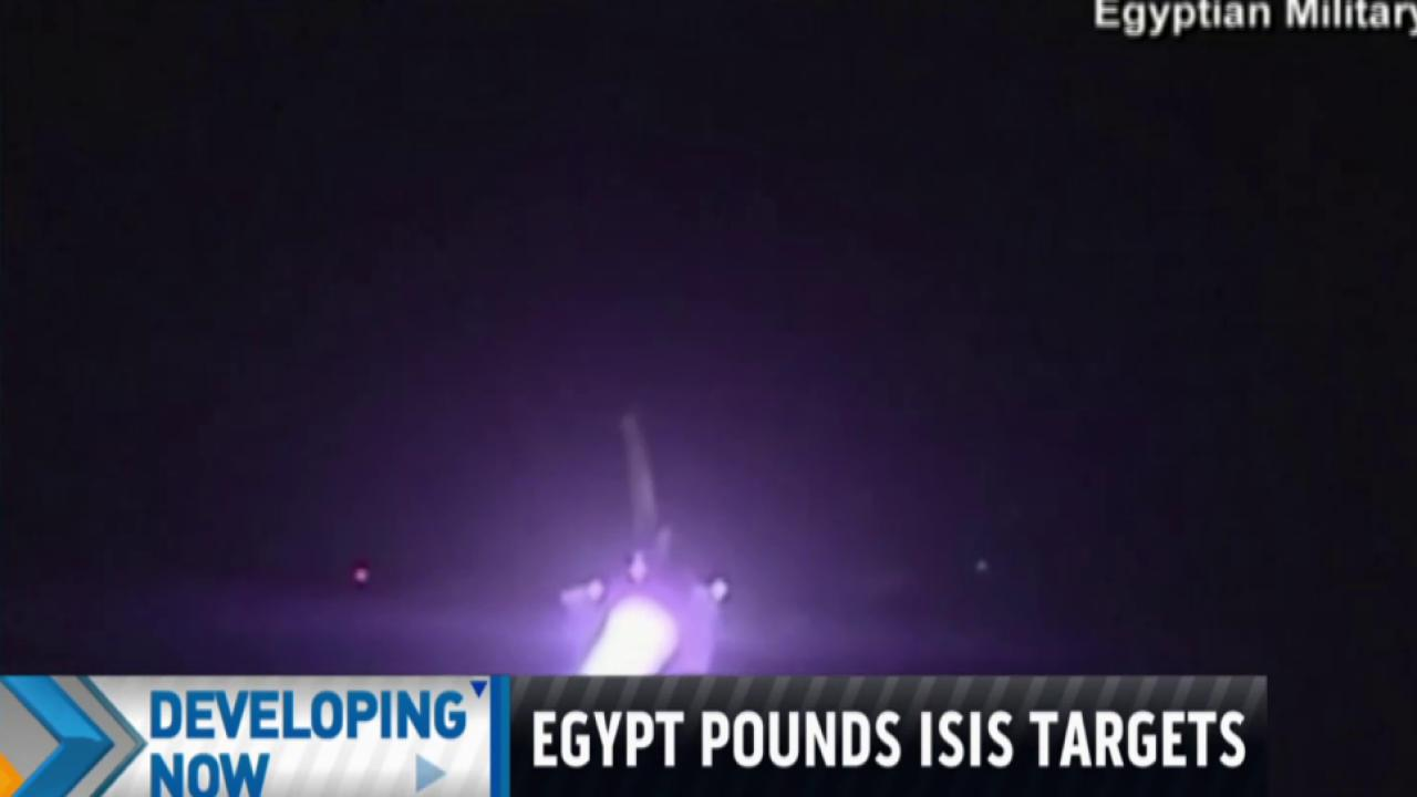 Egypt launches new airstrikes against ISIS