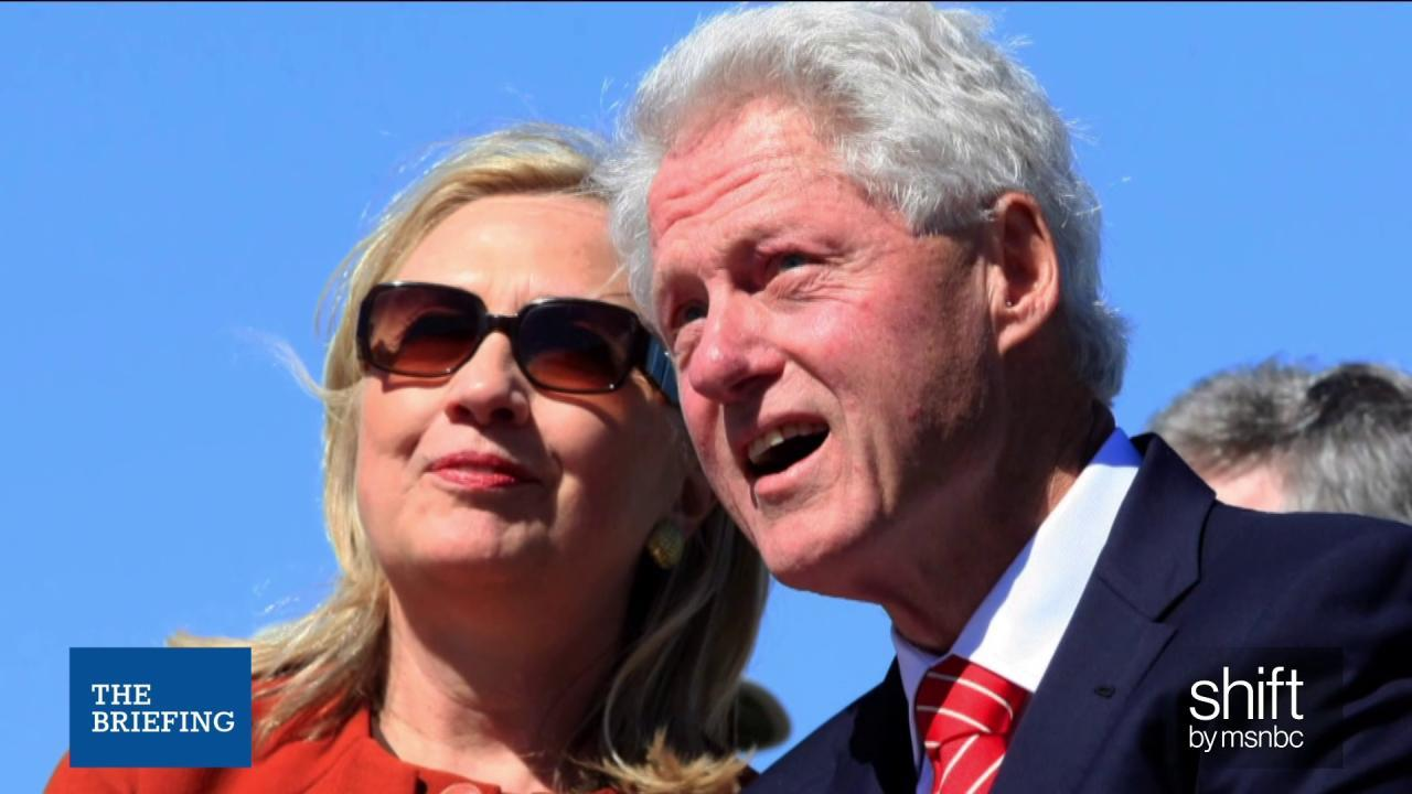 Questions on Clinton Foundation donations