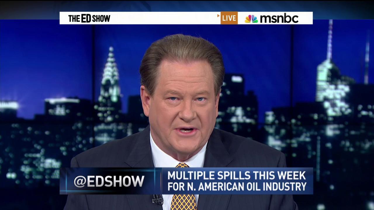 Dangerous oil spills across the nation