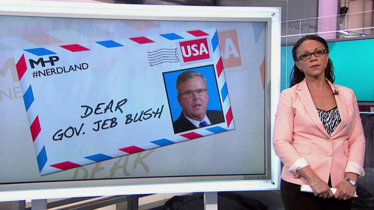 Is Jeb Bush really his 'own man'?
