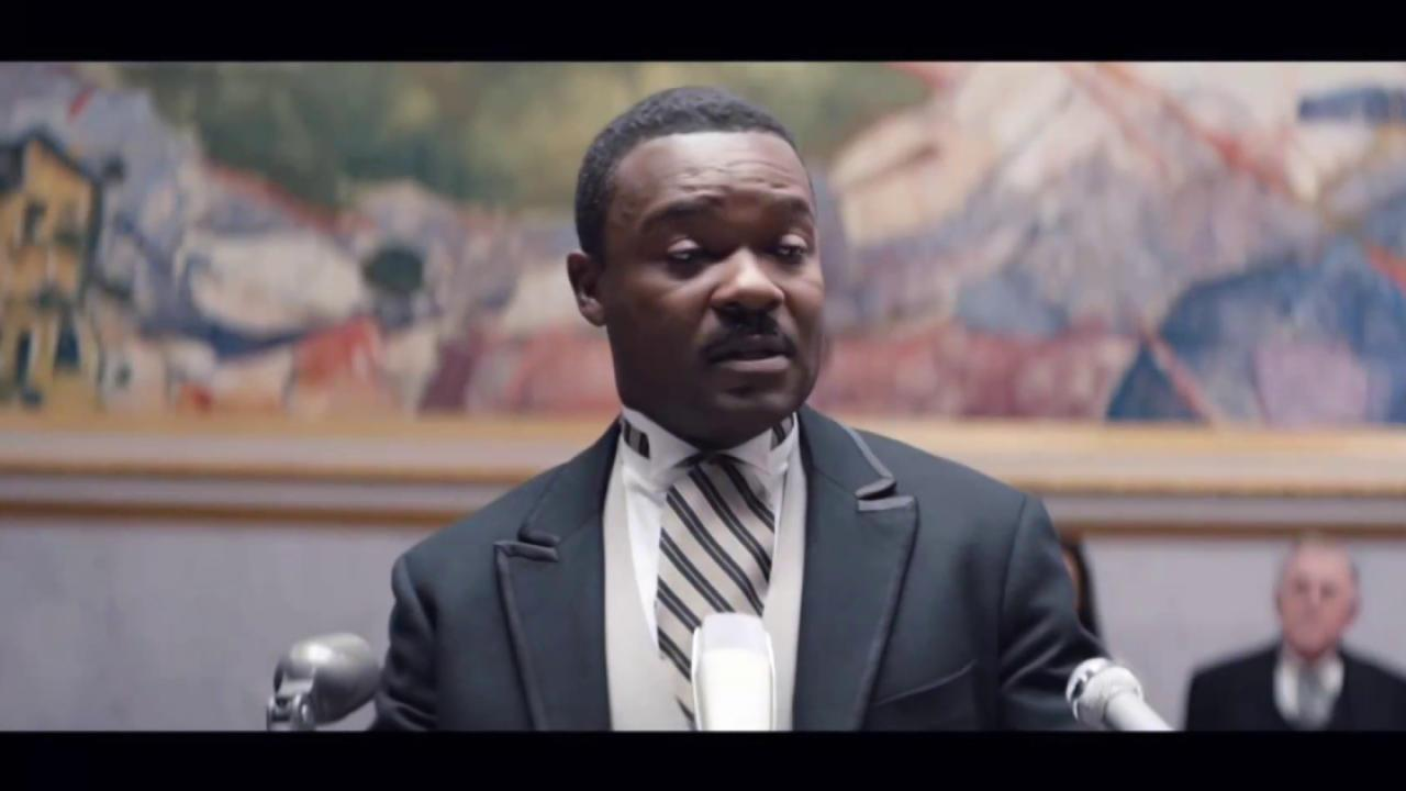 David Oyelowo's final 'Selma' scene