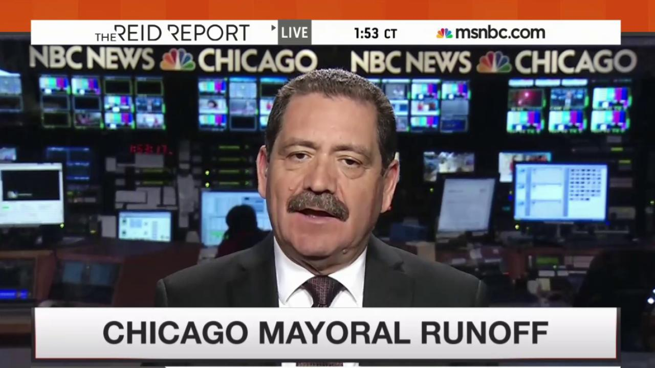 The man battling Rahm Emanuel for mayor