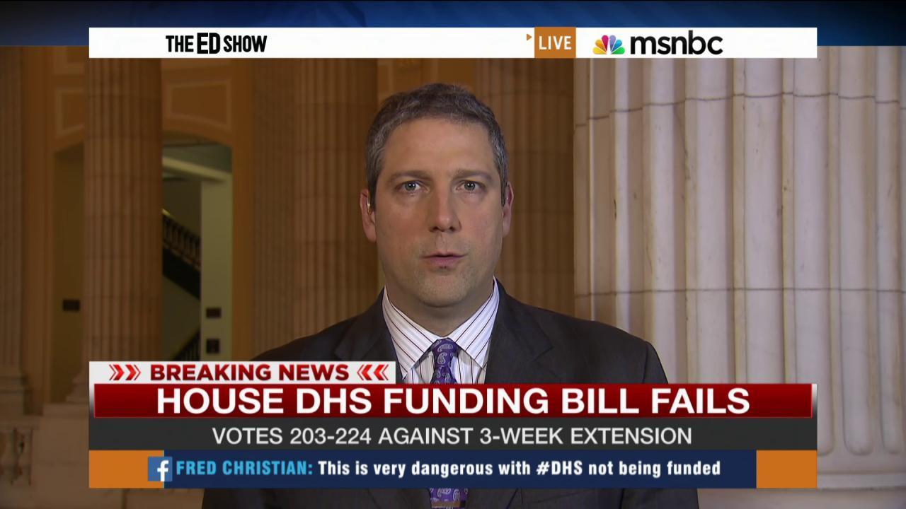 Homeland Security shutdown looms