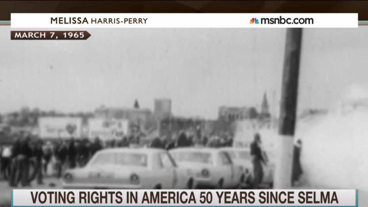Congress votes on medal for Selma marchers