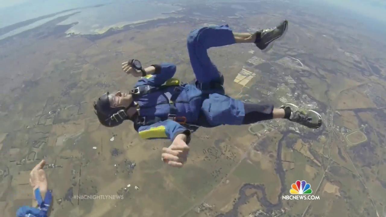 Australia Skydiver Survives Midair Seizure, Unconscious Free Fall
